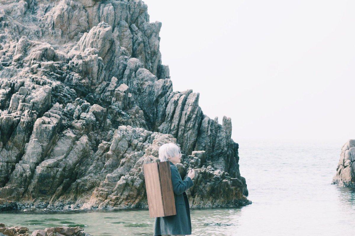 【蟲師|コスプレ】ギンコ/じゅみ()撮影/千鶴()とりあえず適当に目に付いた2枚を選んだだけなんだけど、静寂を感じる写真