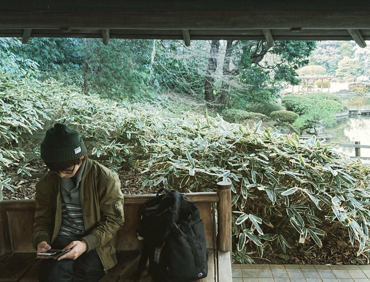 言の葉の庭。 #新宿御苑