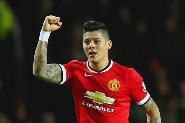 HAPPY BIRTHDAY: Three cheers to Argentine defender, Marcos Rojo, who turns 27 today.