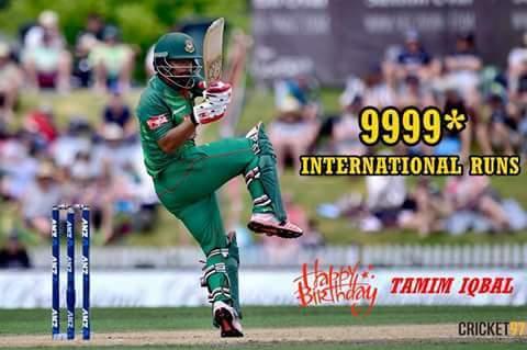 Happy birthday....tamim iqbal khan
