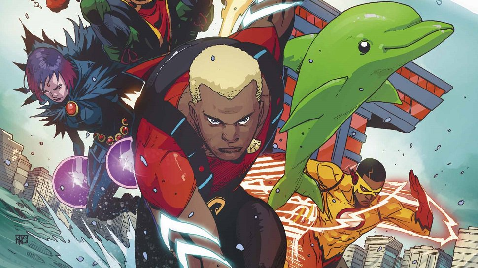 Kaldur'ahm of Atlantis returns to the DCU in this week's #TeenTitans: https://t.co/dNlWpXxBw8 #Aqualad https://t.co/YAREuEEZI0