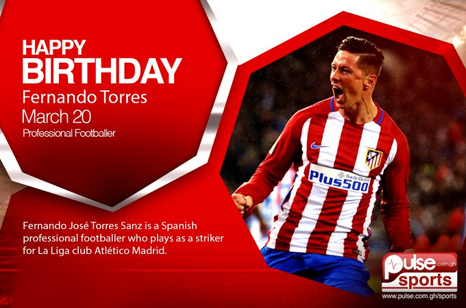 Happy birthday to one of the world\s finest strikers, \El Nino\ Fernando Torres.