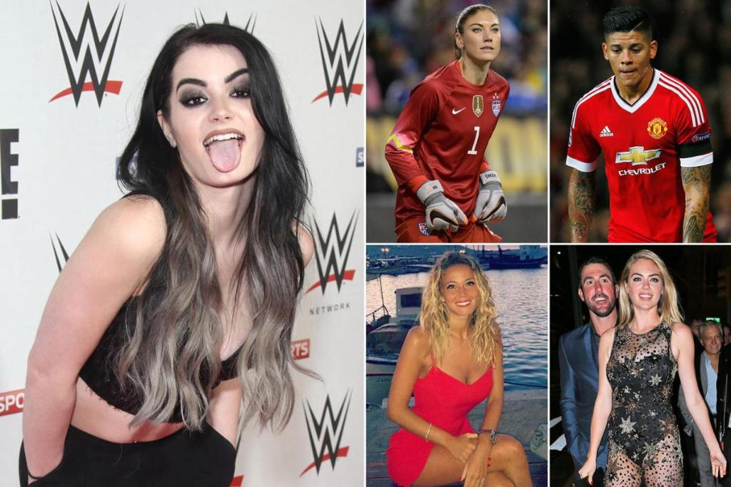 After WWE star Paige's sex tape leak, here are seven sports stars whose naked  pics