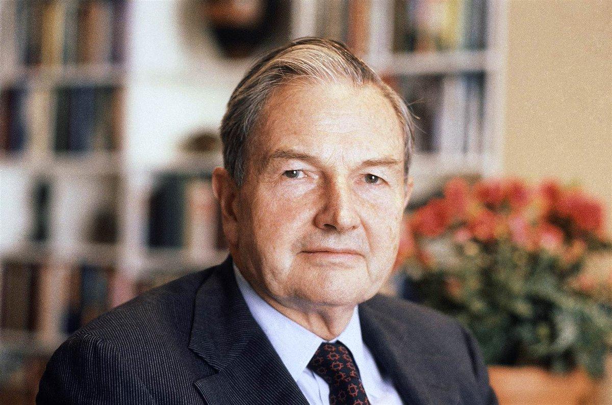 BREAKING David Rockefeller, grandson of Standard Oil co-founder, dies at 101