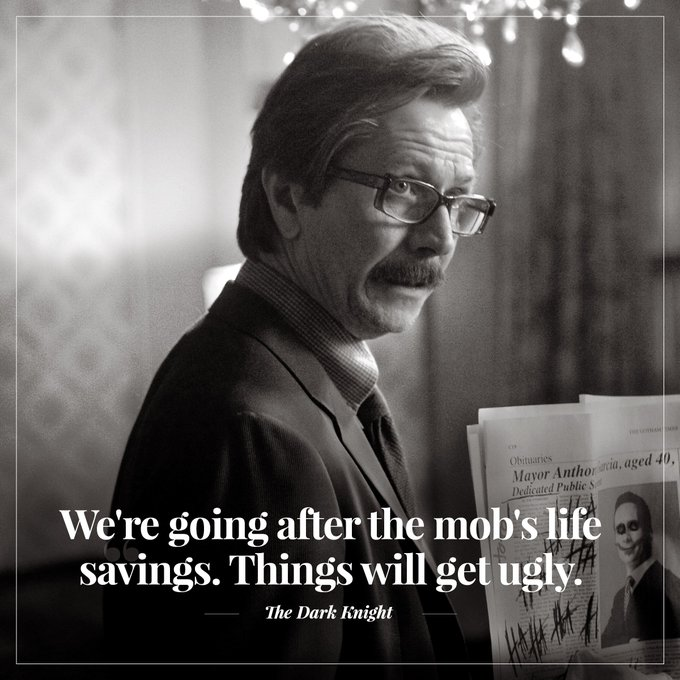 Wishing a very happy birthday to Commissioner Gordon, Gary Oldman!