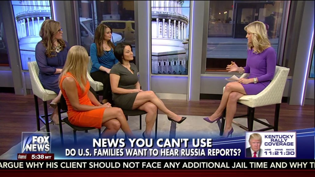 Banner on @FoxAndFriends: 'NEWS YOU CAN'T USE' / 'Do U.S. families want to hear Russia reports?' https://t.co/xYEmaQECpU