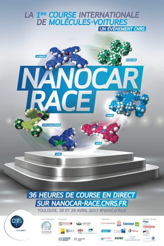 Nanocar Race : Le CNRS lance la première course de «molécules-voitures» sur microscope https://t.co/9ilrfLVgi0