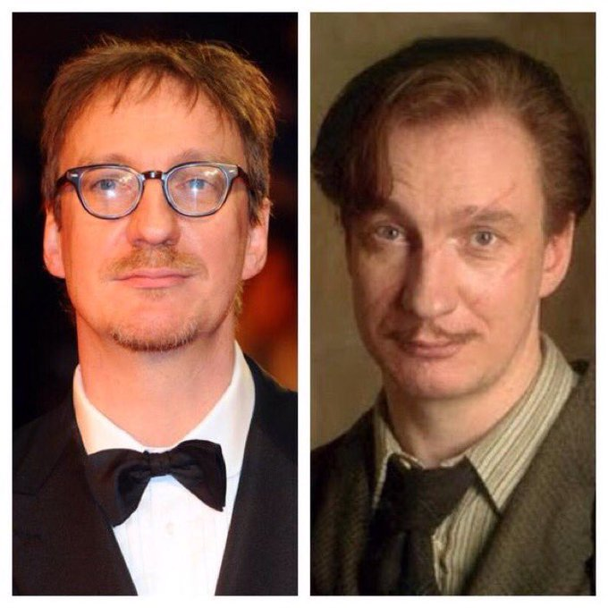 March 20: Happy Birthday, David Thewlis! He played Remus Lupin in the films.