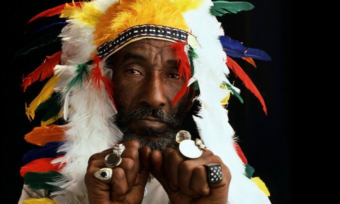 "HAPPY BIRTHDAY... LEE \SCRATCH\ PERRY! ""POLICE AND THIEVES\""."
