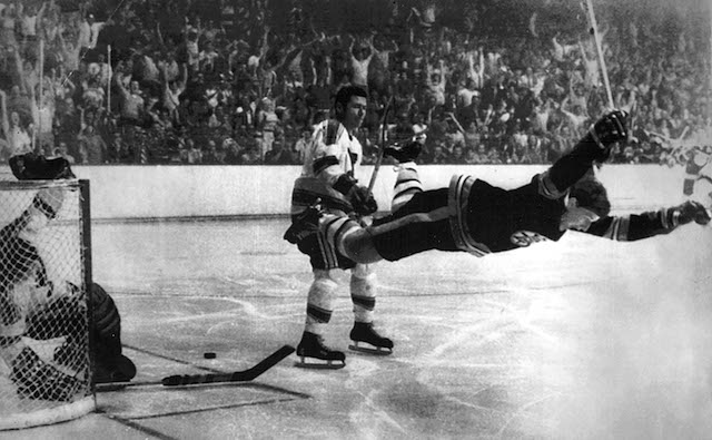 Happy 69th birthday to Bobby Orr, the greatest hockey player ever