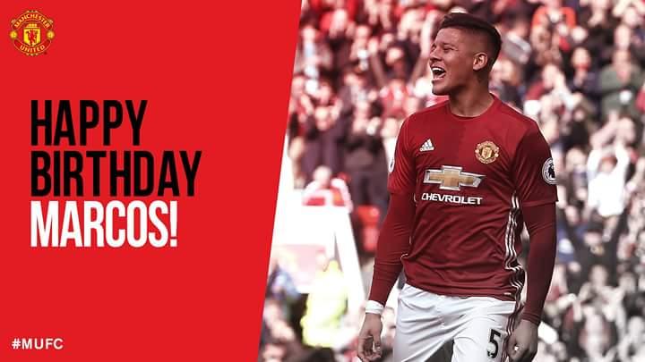 Happy birthday Marcos Rojo
