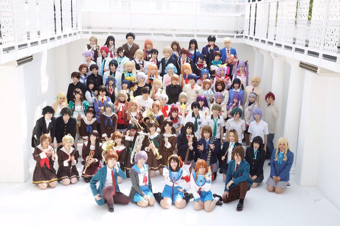 ✨京アニ大型併せ✨ 無彩限のファントムワールド、水無瀬小糸で参加でした(*^^*)メンバー揃っており、皆さん元気いっぱい