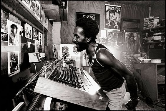 Happy birthday to Lee \Scratch\ Perry. Photo from 1976.