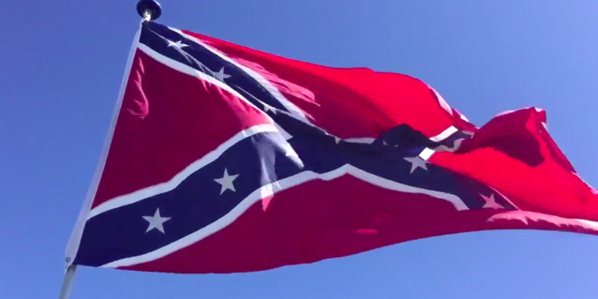 Confederate flag appears outside NCAA tournament in South Carolina https://t.co/haiHudXmgN https://t.co/zMi8eJbG5Q