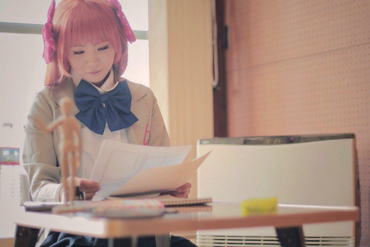 【コス写】▷月刊少女野崎くん千代 / らくま掘 / カミヤルイトp / うたこ撮影させていただきました🙆