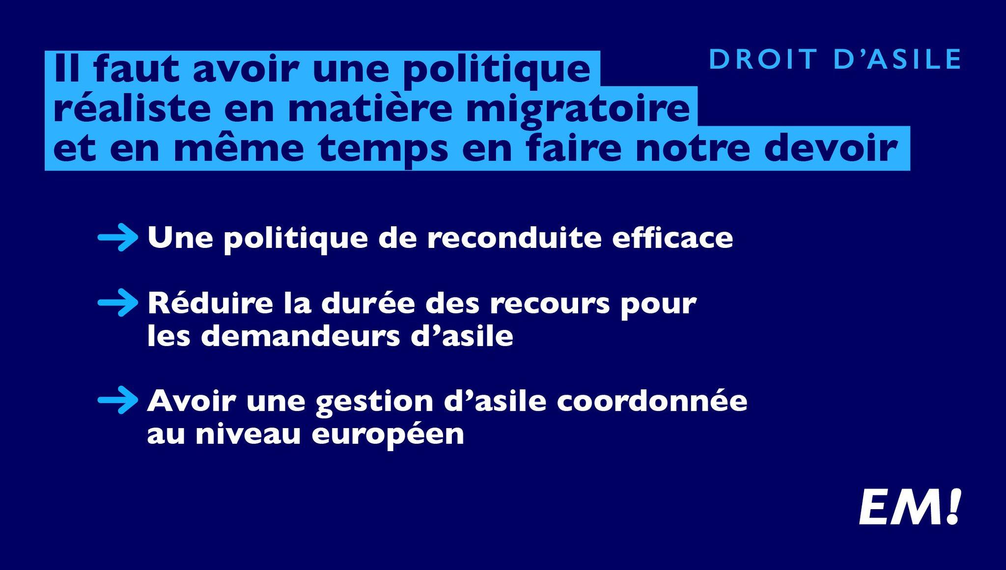 Il faut avoir une politique réaliste en matière migratoire et en même temps en faire notre devoir. #LeGrandDébat https://t.co/rjuGS86WNJ