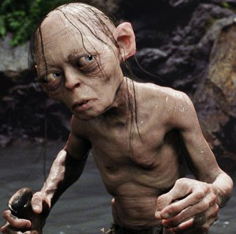 Gollum played a #VeryLimitedRole in The Lord of the Rings.