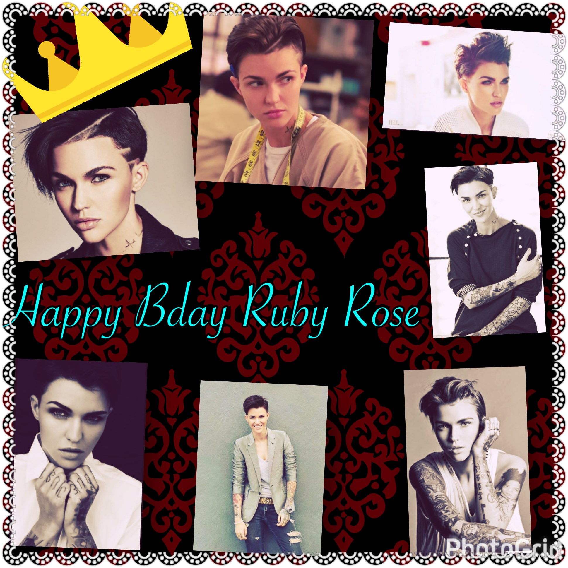 Happy birthday Ruby Rose