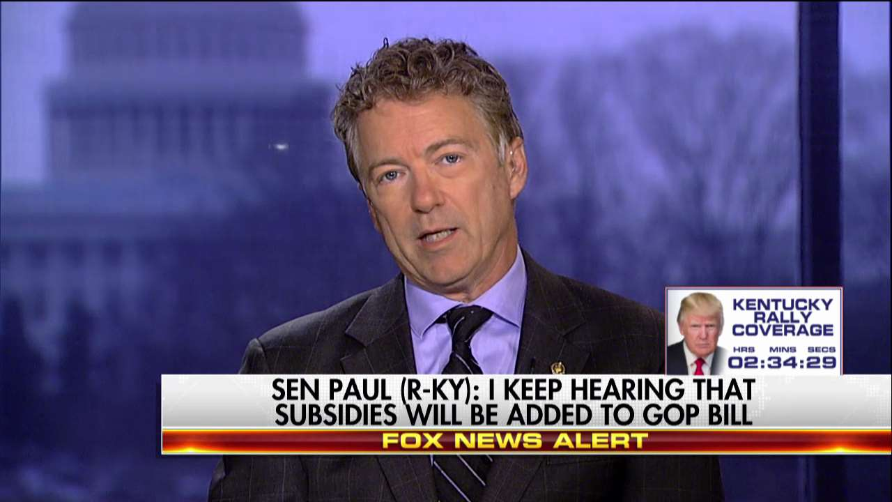 ".@RandPaul: ""We're for repeal, but we're really not for Paul Ryan's #ObamacareLite bill."" https://t.co/FNiRbRcbV2"