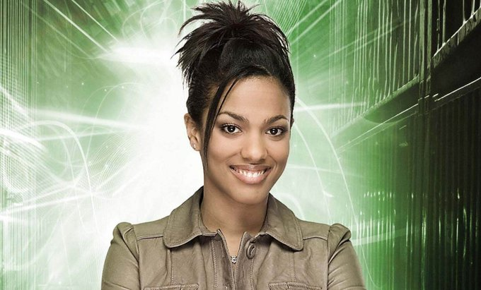 A very happy birthday to Freema Agyeman, aka the brilliant and beautiful Dr Martha Jones!