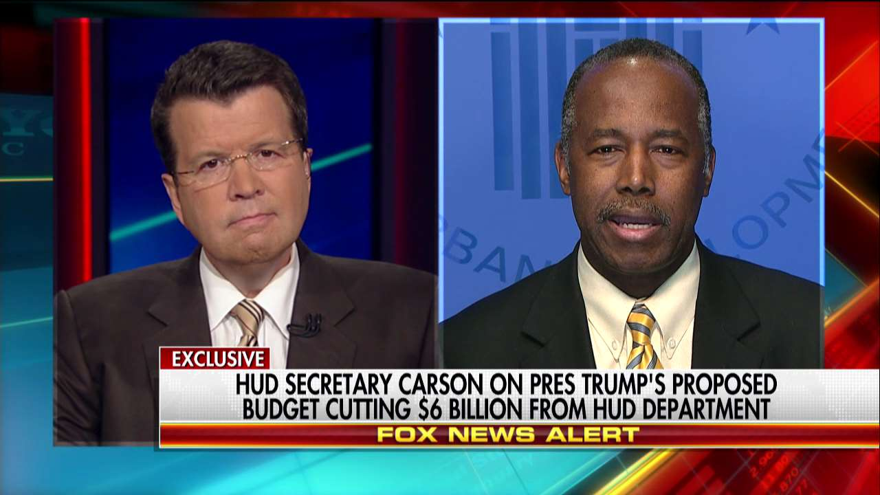 HUD Secretary @RealBenCarson talks with @TeamCavuto now – tune in to Fox News Channel. #YourWorld https://t.co/EIzjjmXPug