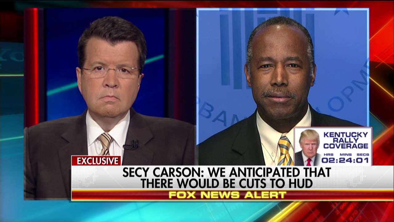 Secretary @RealBenCarson: We anticipated that there would be cuts to HUD. https://t.co/IZm8Nzfmg8