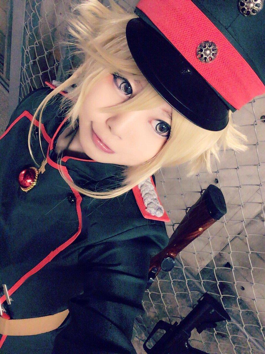 柚子こまちさんの写真とつぶやき:--- では、また戦場で。  #幼女戦記 #コスプレ #cosplay #youjosenki https://t.co/385LOnpQWw