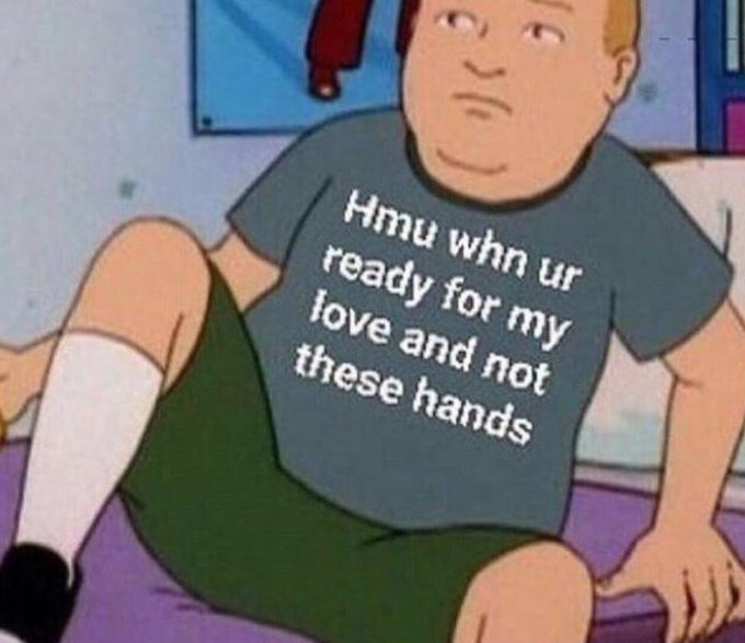 New Hobby: starting a collection of memes I can use on future bae.💀💀💀💀 https://t.co/45JPtWeAL8