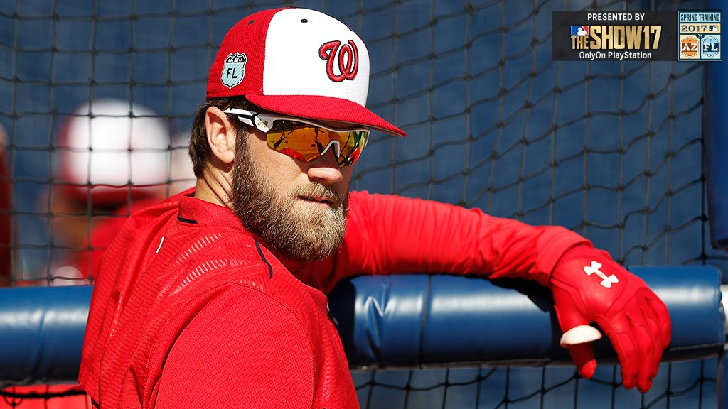 We see you, @Bharper3407. https://t.co/fpf8WWPRgB #SpringTraining https://t.co/ZWlZ43zCHo