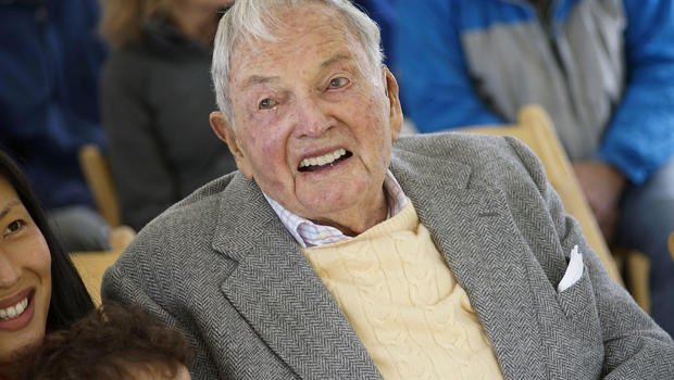 David Rockefeller, billionaire philanthropist and banker, has died at the age of 101