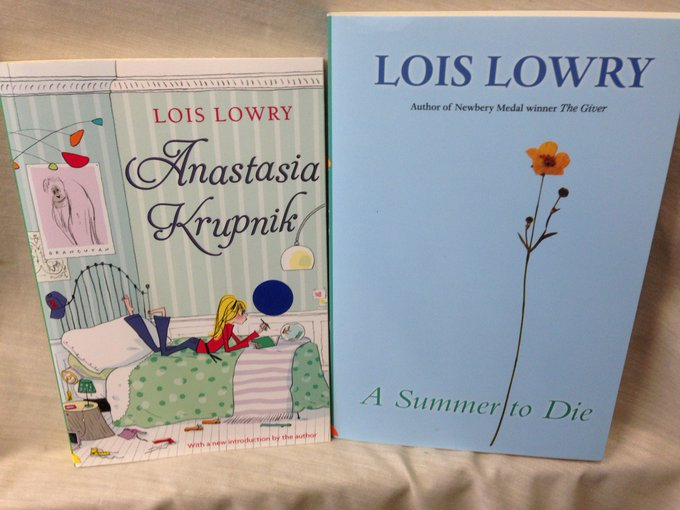Happy Birthday Lois Lowry! Thank you for providing many happy hours of reading!