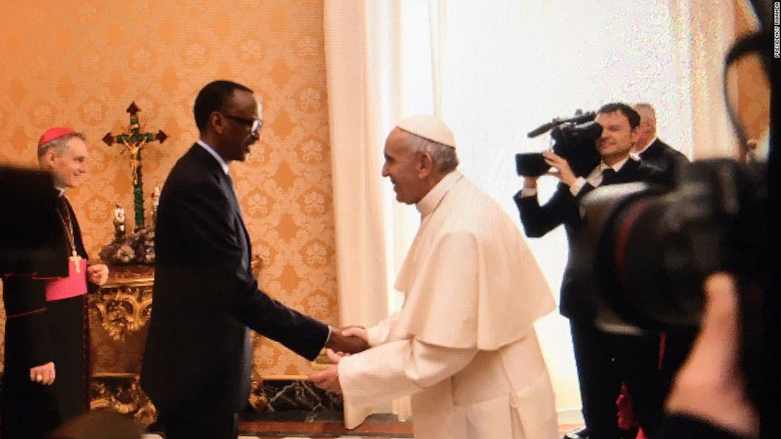 Pope Francis asks 'forgiveness' for church role in Rwandan genocide