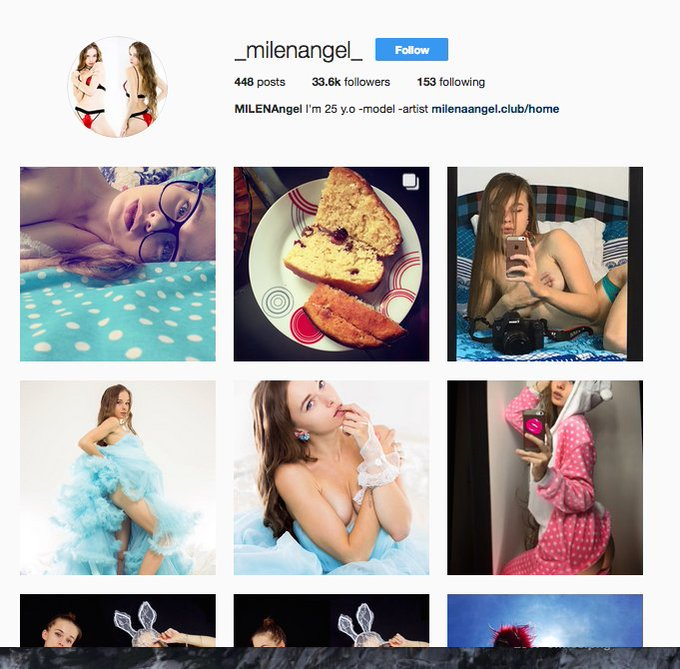My Instagramm Page https://t.co/b0roJvCdoC  or  @_milenangel_ https://t.co/A51PVYQBZf