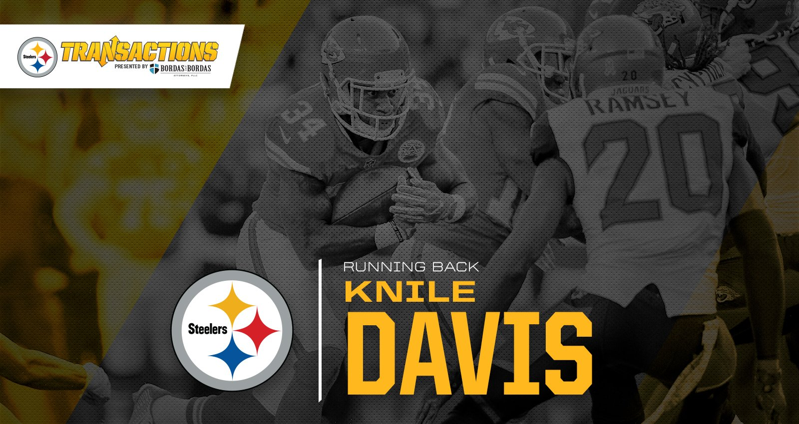 We have signed RB Knile Davis.  MORE: https://t.co/XGY7zV6NGS https://t.co/z96jE71BXu