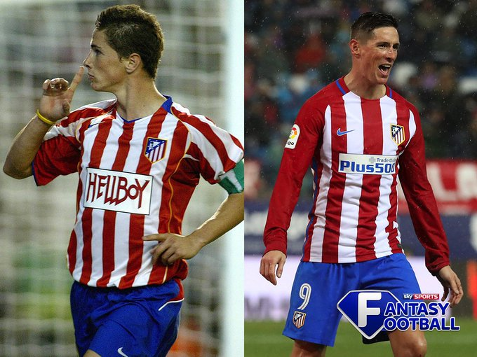 Then and now.  Happy birthday Fernando Torres