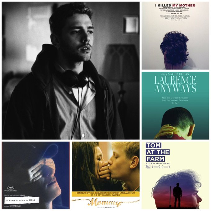 Happy birthday to writer/director/actor Xavier Dolan (b.1989).