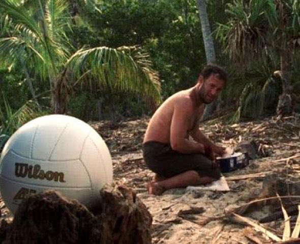 Tom Hanks played a #verylimitedrole in Castaway. #PressBriefing