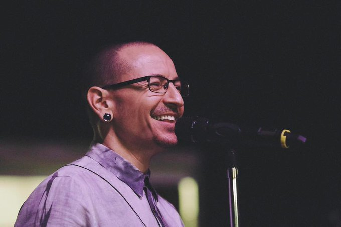 This incredible smile from today\s birthday Chester Bennington! Happy Birthday, !