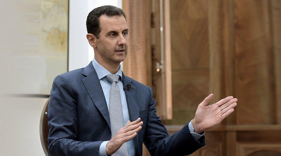 Assad: WhiteHelmets are Al-Qaeda, but being treated like heroes after winning Oscar