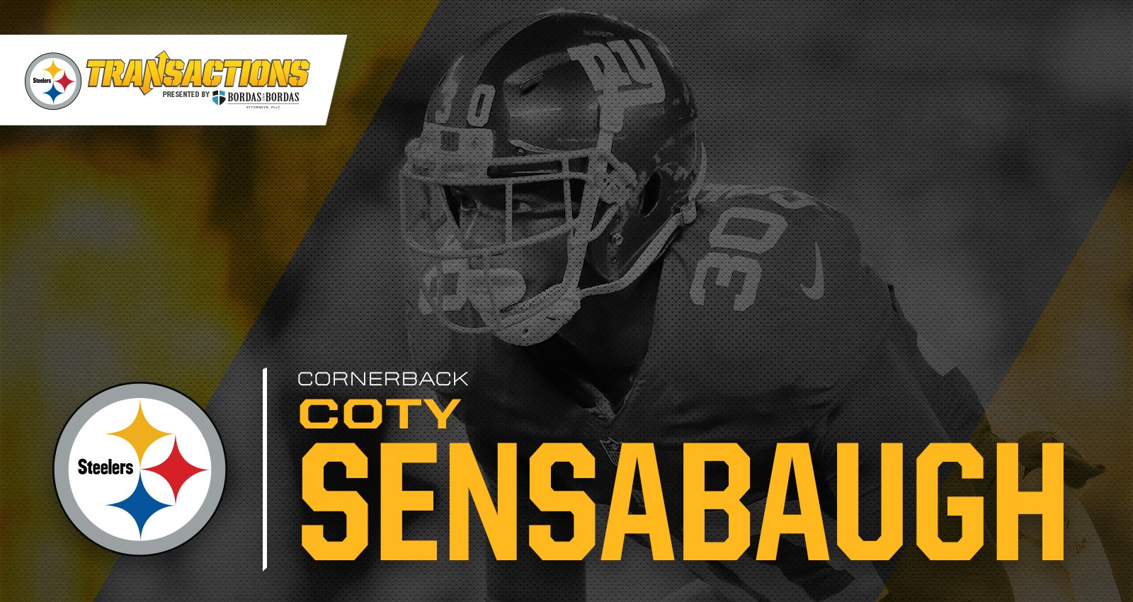 We have signed CB Coty Sensabaugh to a two-year contract.  MORE: https://t.co/d4I90CIVGP https://t.co/8ogdxskWp3