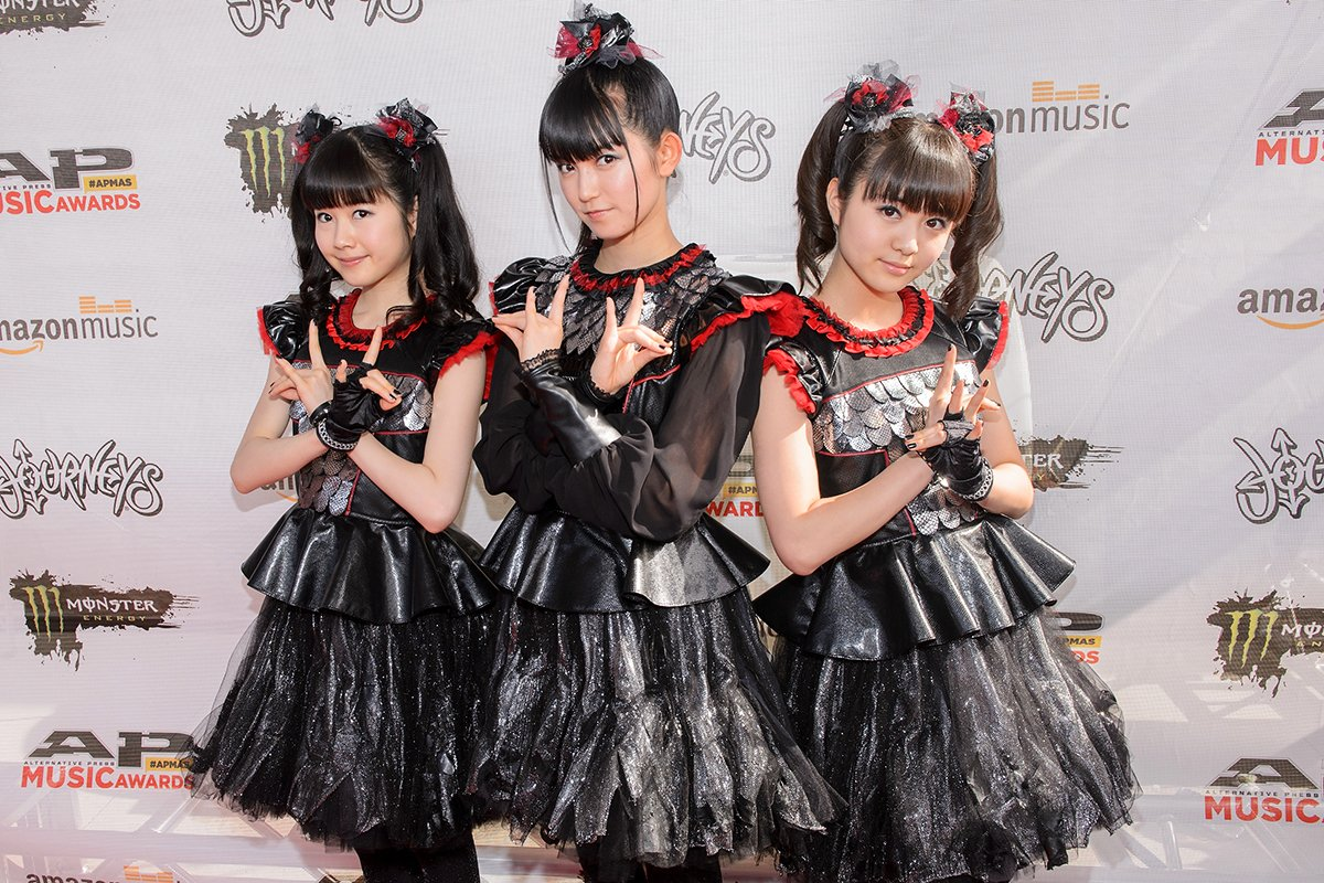 Congrats to @BABYMETAL_JAPAN, winners of our #RepYourLadies poll! https;//t.co/IXwT4UCTqS 🎊 https...