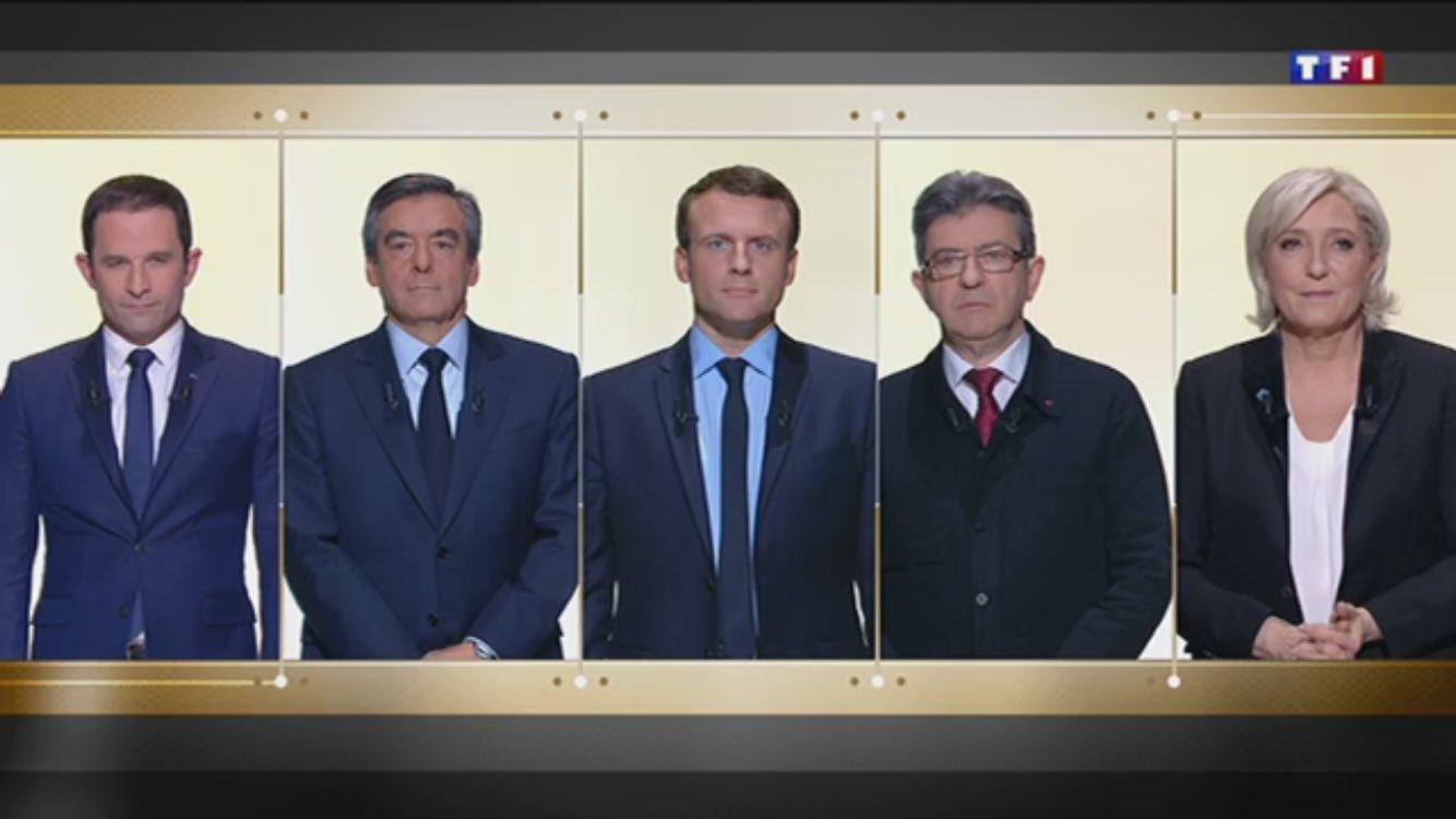 Ils et elle sont tous là. #DebatTF1 #LeGrandDebat https://t.co/PAfCML2NgE