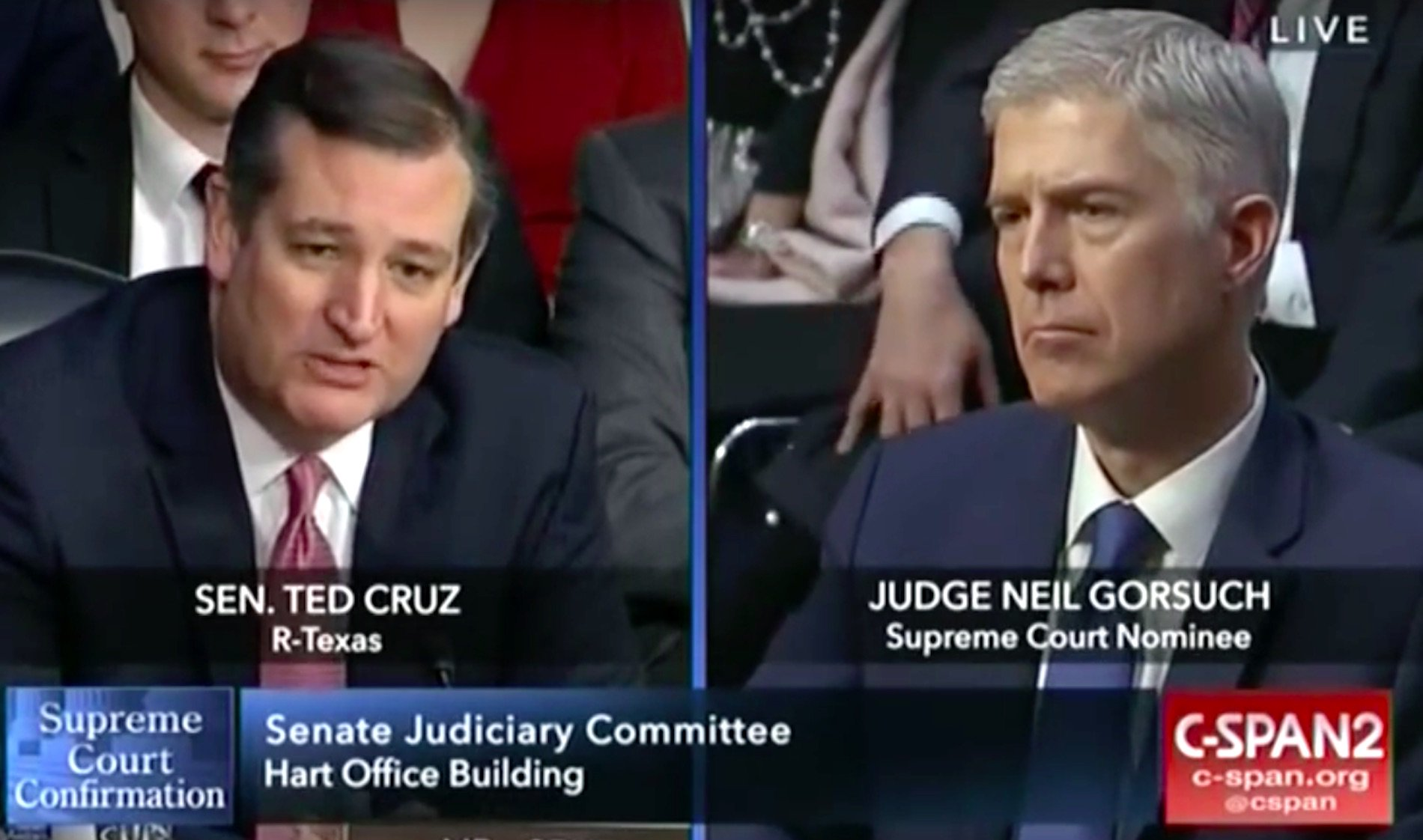 Ted Cruz slams Democrats' hypocrisy during Gorsuch confirmation hearing  https://t.co/yacp9vcCJe https://t.co/0WNUFO9l1J