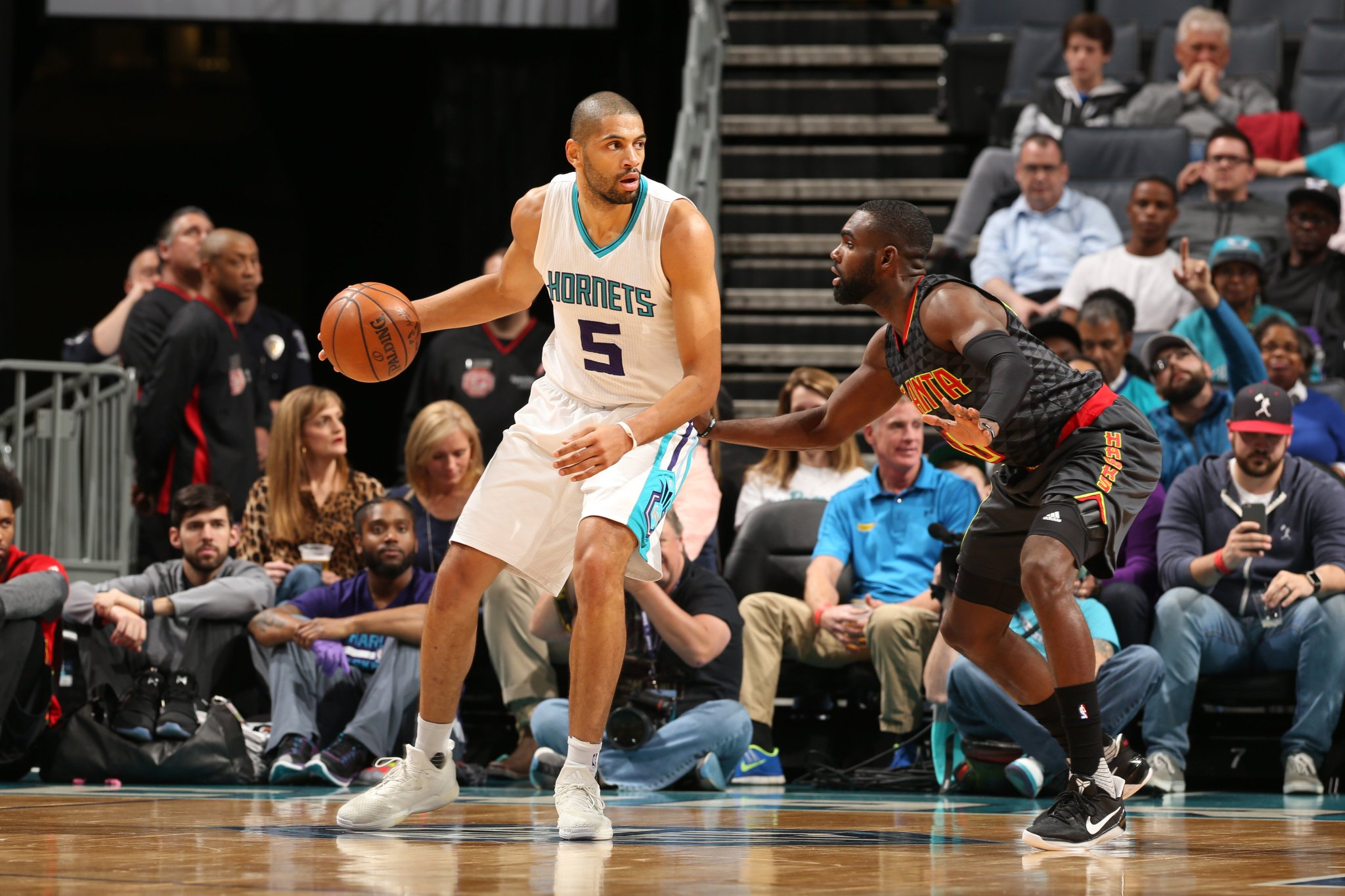 Charlotte takes this one at home. Kemba and Nic combine for 32.  FINAL - @hornets: 105 @ATLHawks: 90 https://t.co/Eivy4AU7KM