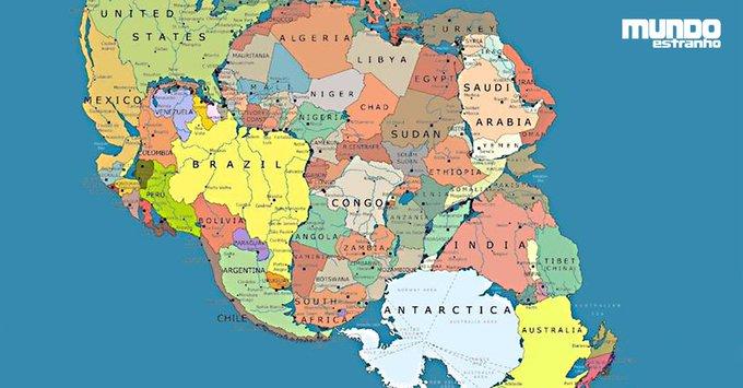 E se os continentes não tivessem se separado? https://t.co/D3mLemtrim