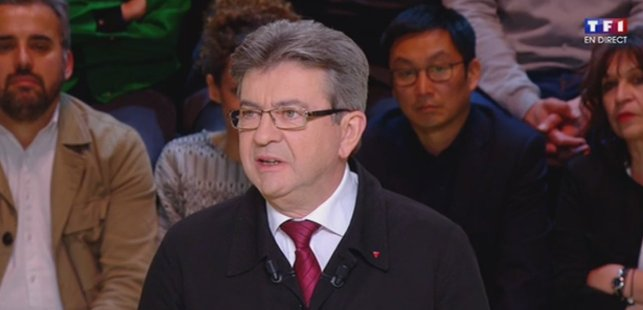 �� #LeGrandDebat - @JLMelenchon : 'Quiconque est condamné doit être inéligible à vie' ↘  https://t.co/DEeR8dD1cB https://t.co/w1l9ZKKQEm