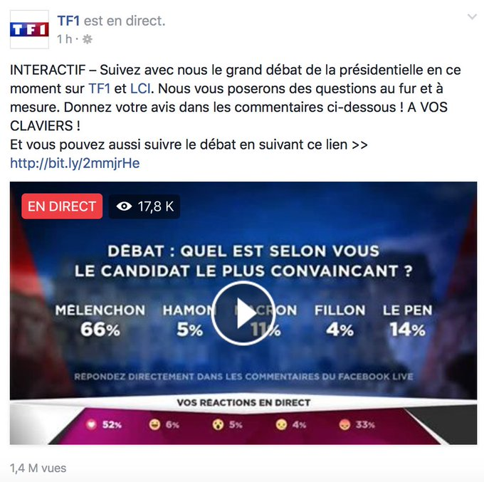 Merci ! #LeGrandDébat #DébatTF1 - https://t.co/XDz6X1t6sw