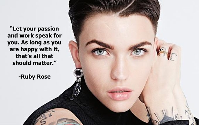 Happy birthday Ruby Rose from Cast It Talent!