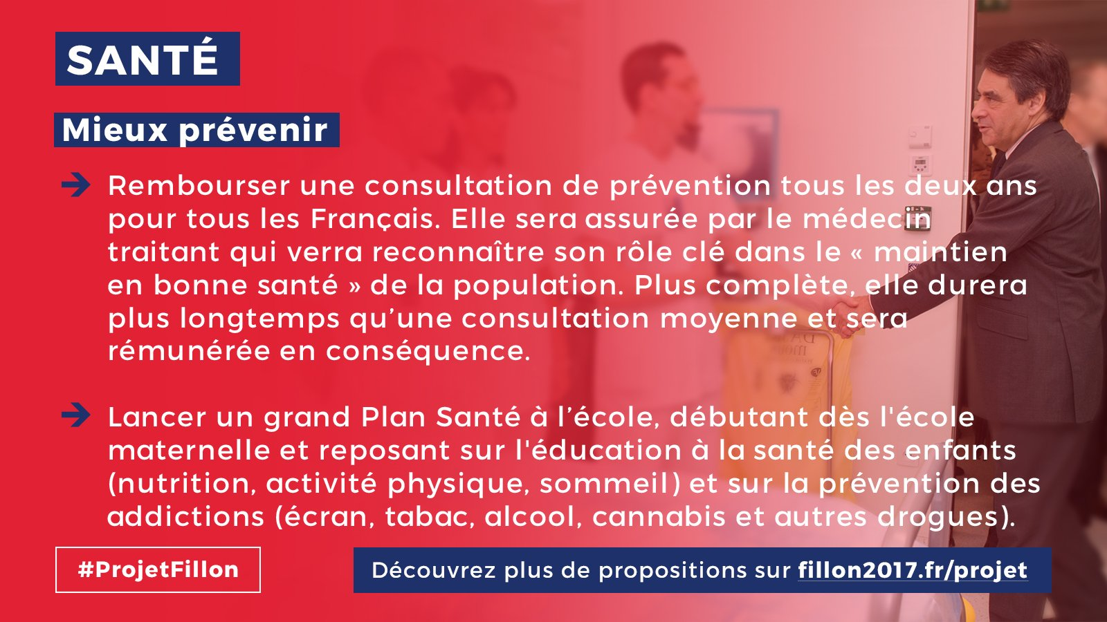 #Fillon2017 #FillonPresident #LeGrandDebat ... les propositions de @FrancoisFillon en matière de #santé https://t.co/PPRvZgougM