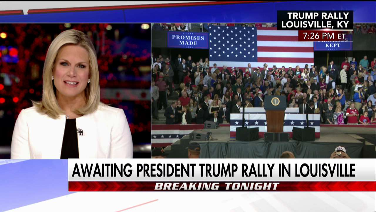Awaiting President @realDonaldTrump rally in Louisville. Tune in to Fox News Channel for live coverage. #First100 https://t.co/iJE9laGHzs